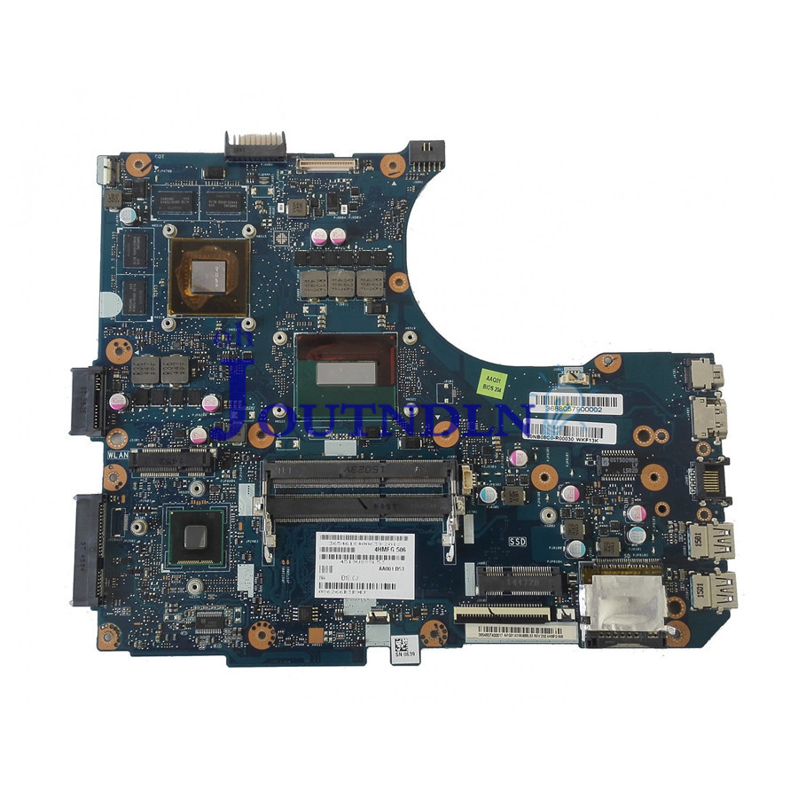 Joutndln For Asus N551jb N551jw N551jk N551jm Laptop Motherboard 90nb08c0-r00030 W/ I5-4200hq Cpu Gtx950 2gb Gpu Ddr3 Durable Modeling Computer & Office