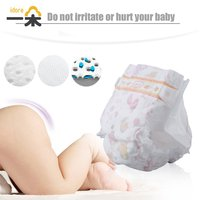 Idore Diaper Size XL For 12kg 52pcs Baby Diaper Disposable Nappies Leakproof Ultra Thin Breathable Diaper