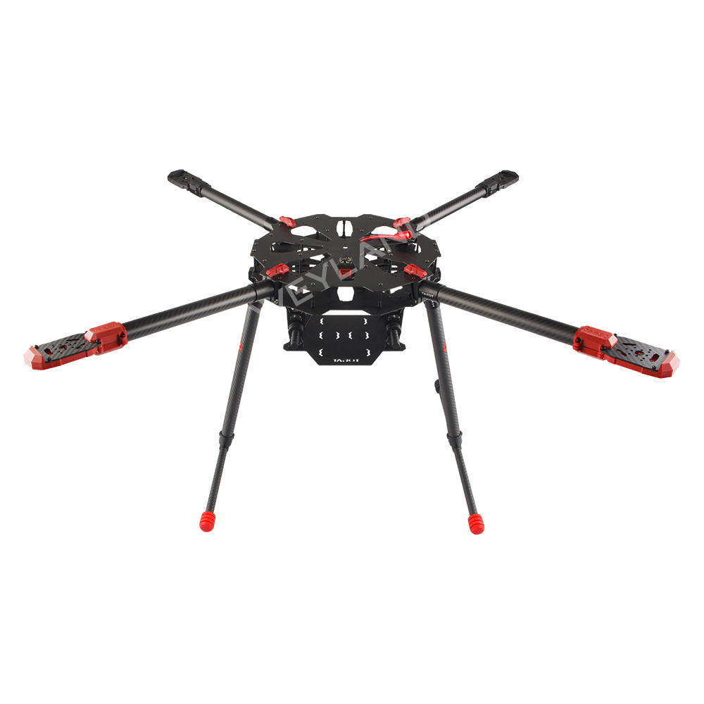 Tarot X4 4 Axis Umbrella Carbon Fiber Foldable RC Quadcopter Drone FPV Frame TL4X001 PCB Electronic Retractable Landing