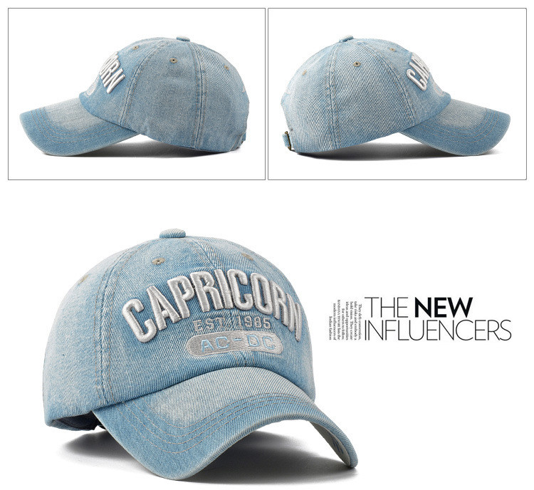 Topdudes.com - Best Quality CAPRICORN Boating Snapback Golf Baseball Outdoor Cap