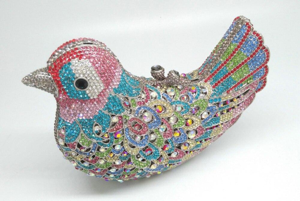 Aliexpress.com : Buy Gift Box Wedding Bridal Multi Crystal Minaudiere ...