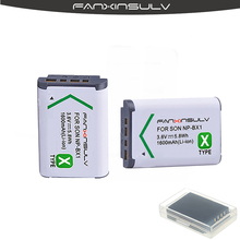2pcs NP BX1 NP-BX1 Battery + 2 Battery case for Sony DSC RX100 M6 M5 M4 M3 M2 CX405 CX240E PJ410  HX300 HX400 HX50 HX60 GWP88 eva digital camera case bag for sony dsc rx100 rx100 ii rx100 iii rx100 iv m4 m5 wx500 w800 w830 hx60 hx50 hx30v hx30 cover