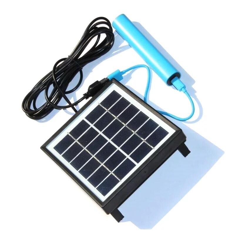 diy célula solar para jardim de acampamento alta qualidade portátil