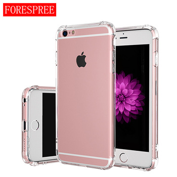 fc1d656fa02 Funda para Apple iphone 6 plus funda para iphone 6s plus silicona  transparente iphone 6p 6sp funda trasera suave transparente