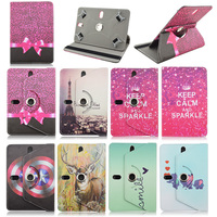 360 Rotating Universal 7 Inch Tablet PU Leather Case For Aoson M721 M725G M787T 7 0