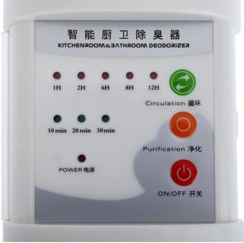 Aire Ozonizador Purificador De Aire Desodorizador Ozono Ionizador Generador Esterilización Filtro Germicida Desinfección Limpio Para El Hogar