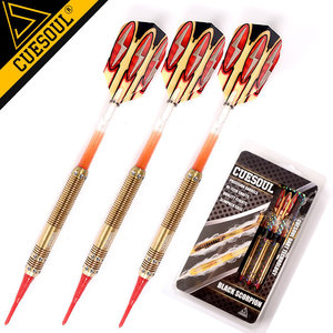 Image 4 - 15cm 18g CUESOUL Professional Dart Soft Tip Darts Electronic Dart With Brass Barrel And Nylon Dart Shafts With Good Quality