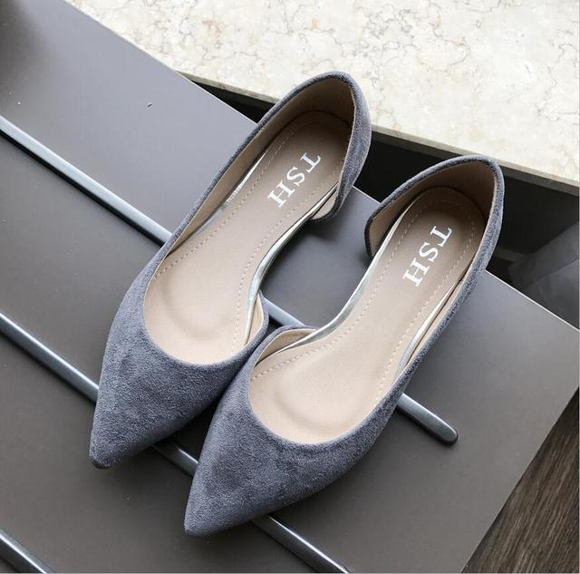 fashion  Women's shoes comfortable flat shoes New arrival flats  -603-5-  Flats shoes large size Women shoes