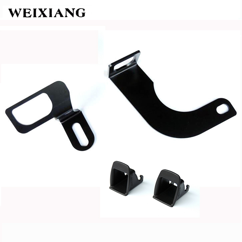 For Volkswagen Jetta 5 Car Seat ISOFIX Connector Interfaces Guide Bracket Holder ISOFIX Retainer For Car Baby Child Safety Seat