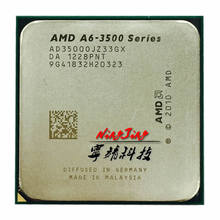 AMD A6-Series A6 3500 2.1 GHz Triple-Core CPU Processor AD3500OJZ33GX Socket FM1(China)