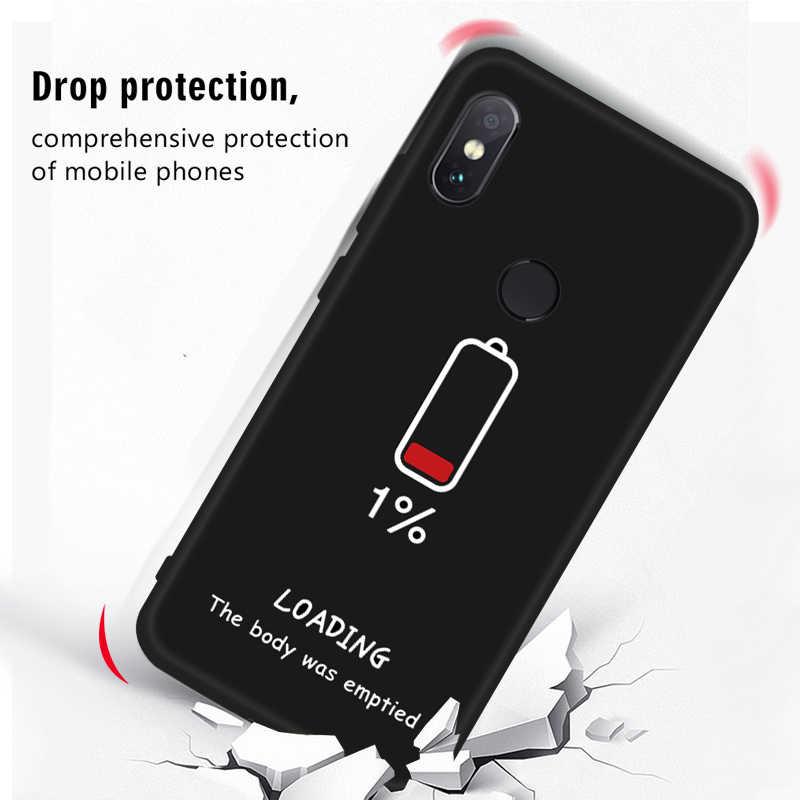 Силиконовый чехол для Xiaomi Redmi Note 6 Pro 7 S2 6A 5 плюс милый рисунок роспись силиконовый чехол для Redmi Note 5 Pro 7 5A 4X Капа
