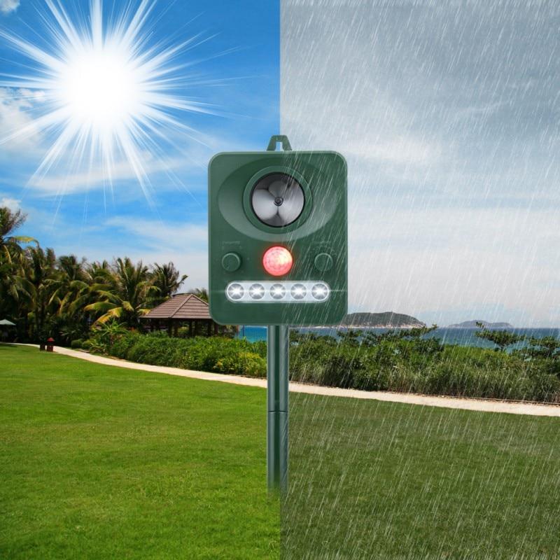 Reject Shop Outdoor Solar Lights: RC 512 Solar Power Ultrasonic Gopher Mole Snake Mouse Pest