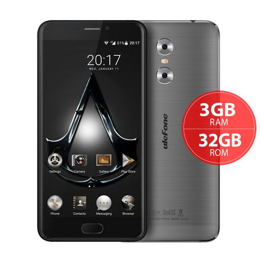 Original Ulefone Gemini Cell Phone 3G RAM 32G ROM MT6737T Quad Core 5 5 inch Android