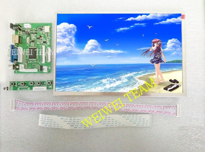 10.1 40 broches 50PIN 1280*800 TFT EJ101IA-01G écran LCD avec carte de contrôle à distance 2AV HDMI VGA pour Raspberry Pi