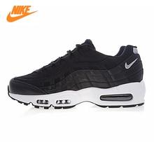Nike Air Max 95 PRM Men's Running Shoes, Black, Shock Absorption, Anti-slip, Quick-drying 538416 008
