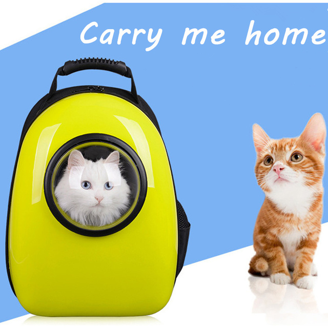 Top Sell Space Capsule Shaped Pet Carrier Breathable Pet Backpack