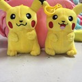 15cm  Pikachu Poke  Plush Toys  Stuffed Bag Keychain Doll For Kids