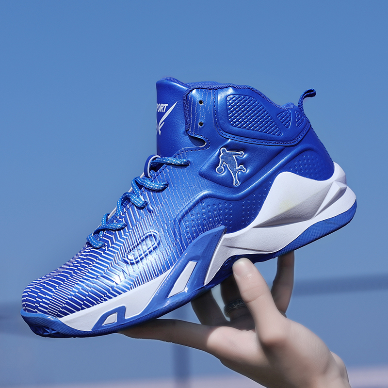 Men Basketball Shoes High Quality Professional Mens Street Basketball Game Boots Mid Top Basketball Training Mens Sports Shoes