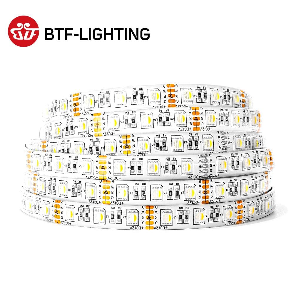Licht & Beleuchtung Herzhaft 5050 Rgbw Led Streifen Lichter Gemischt Farbe Rgbww Led Streifen Beleuchtung 4 In 1 Rgbww Led-streifen Rgbw 5pin 60 Leds/m Schwarz 12 V Wasserdicht