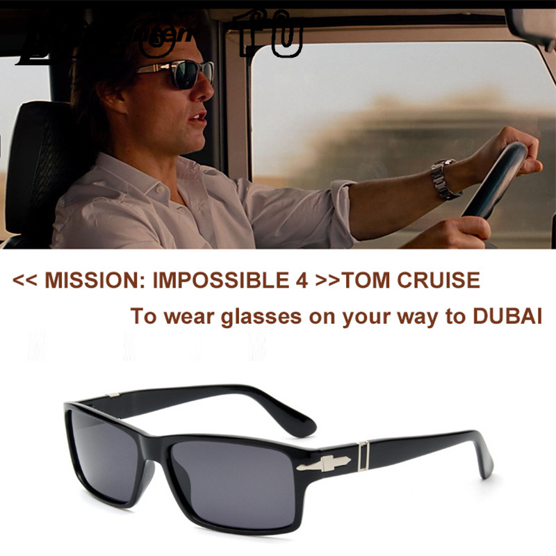 Polarized Driving Men Sunglasses Fashion Mission