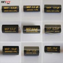 HIFIDIY LIVE propathene MKP конденсатор неполярный разделитель частоты конденсатор аудио питания 2.2uf3.3 4,7 5,6 6,8 8,2 10 12 18