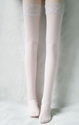 [wamami] 12# White 1/4 MSD DZ BJD Dollfie Sexy Fishnet Stockings [wamami] 54 black 1 4 msd bjd dollfie synthetic leather boots shoes