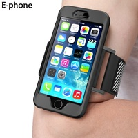 For Iphone 5 5s Se 6 6s 7 Plus Running Riding Arm Band Jogging Gym Armband