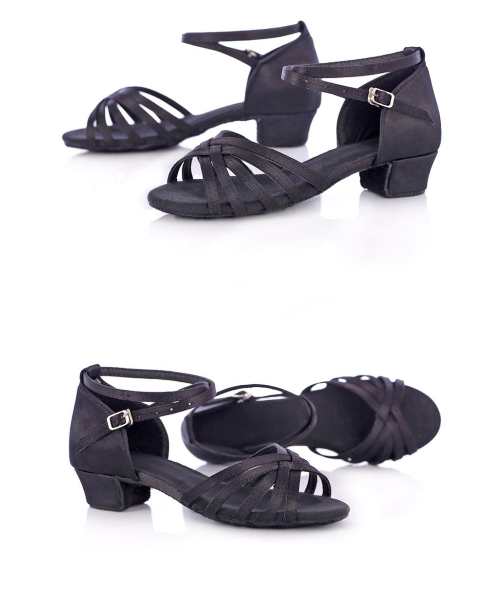 New Arrival Ballroom Tango Latin Dance Shoes High Quality Latin Woman Dancing Shoe Wholesale Women'S Heel Shoes Fast Shipping (8)