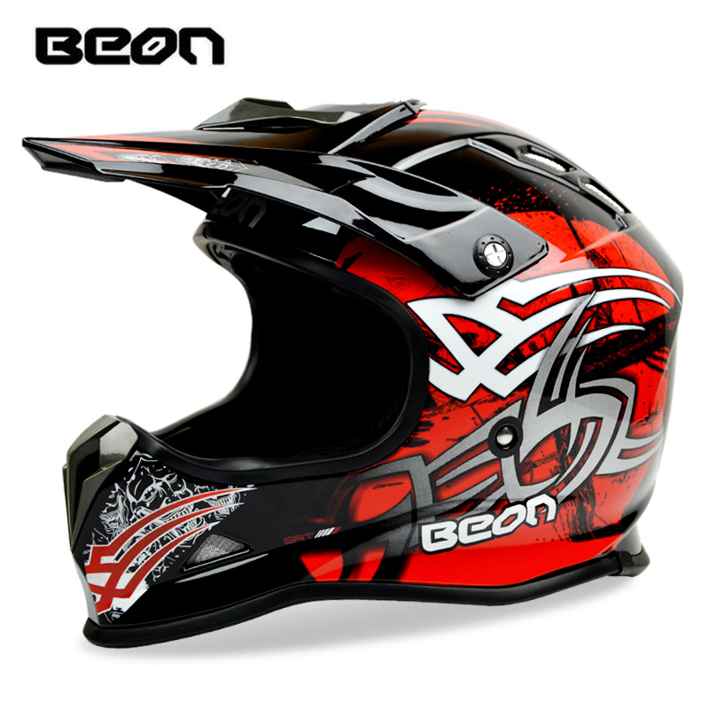 BEON-mx16 casque de moto casque de motocross vélo descente DH précipitant casque de cross de montagne certification ECE