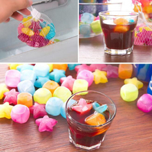 3Pack(18PCS) Plastic Reusable Ice Cubes Party Outdoor Traveling Cool Freeze Blocks