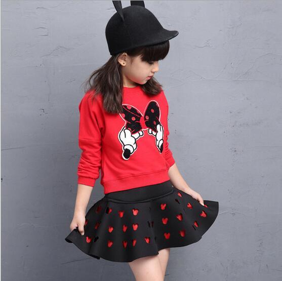 Cute-Toddler-Girl-Clothing-Sets-Kids-2017-Spring-Children-Minnie-Cartoon-Tshirt-Skirt-2pcs-set-Tracksuits-Hoodies-Children-clot-1