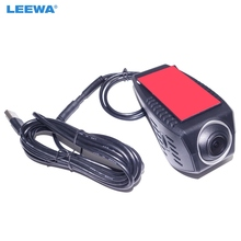 LEEWA 1080P HD Car Front USB Digital Video Recorder DVR Camera For Car Android 4.2/4.4/5.1/6.0 DVD Player GPS Navigator #CA4173