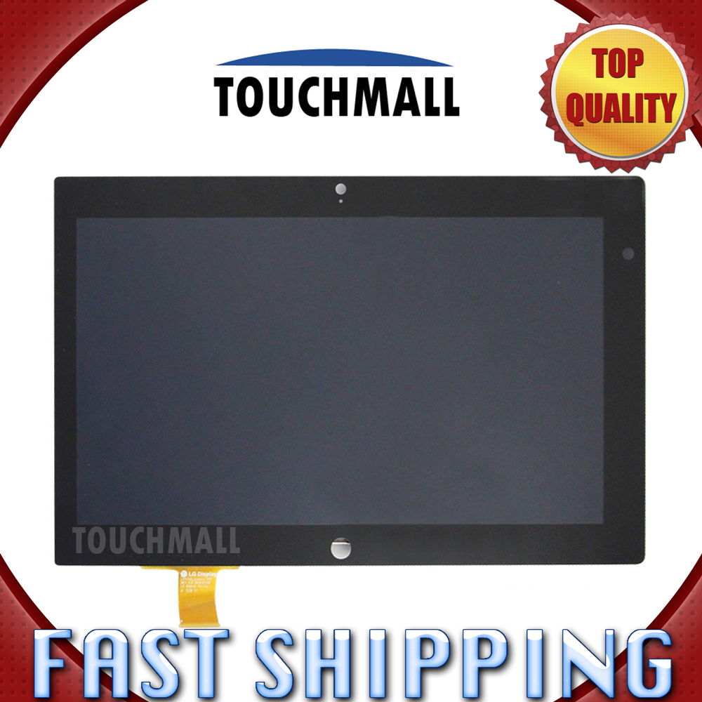 For New LCD Display Touch Screen Digitizer Assembly Replacement Lenovo Thinkpad Tablet 2 Win 8 10.1-inch Black Free Shipping original quality test ok lcd display touch screen digitizer assembly for lenovo vibe x2 x2 to x2 cu black free shipping track