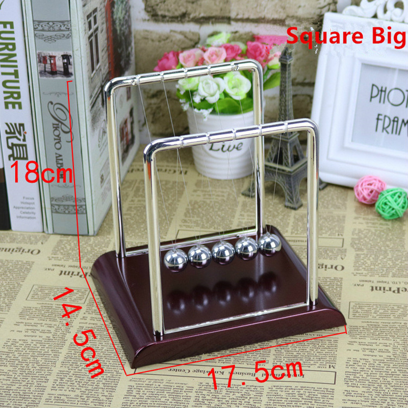 2018 Newton 39 s Cradle Ball Pool perpetual bumper office desktop ornaments crafts creative home decoration gift free shipping