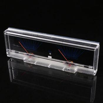 Panel wzmacniacza mocy podwójny analogowy miernik poziomu dźwięku VU miernik dB z podświetleniem tanie i dobre opinie OOTDTY VU Meter