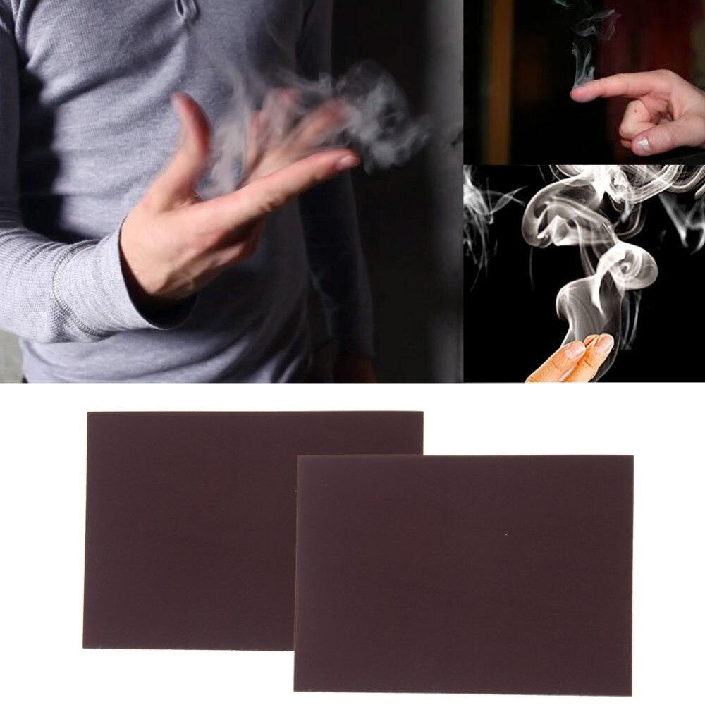 Efeitos de fotografia acessórios, Místico Dedo Fumaça, Fumaça Fantasia Magician Truque Prop do Dedo Acessórios