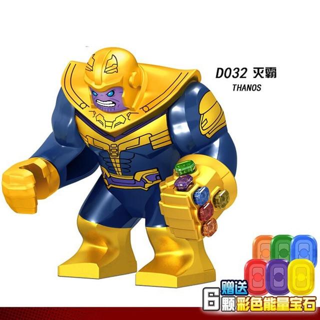 30 sztuk Avengers 3 Super Heroes Thanos chromowane nieskończoność rękawica z 6 sztuk moc kamienie klocki dla dzieci zabawki prezentowe D032 w Klocki od Zabawki i hobby na  Grupa 1