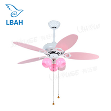New children room bedroom ceiling lamp princess girl droplight with fan light fan light and lovely room lamps and lanterns