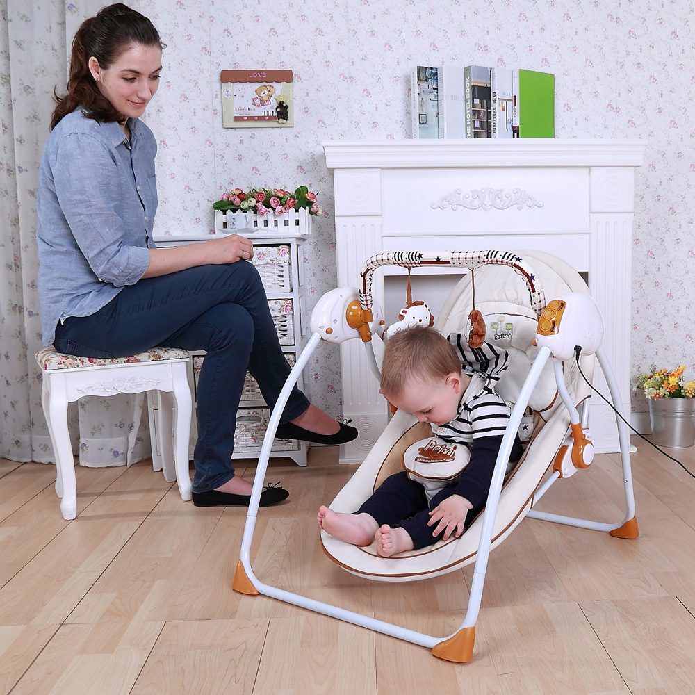 2016 Multifunctional Baby Rocking Chair Cradle Baby Chair
