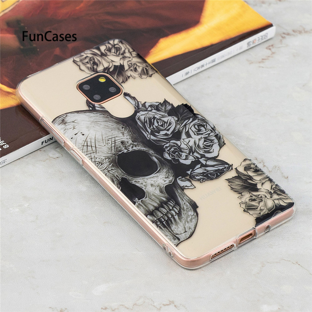 Phone Case For Huawei P20 <font><b>Lite</b></font> <font><b>Mate</b></font> <font><b>20</b></font> <font><b>Lite</b></font> P20 Pro Cover Soft Silicone TPU Back Cover Cases For Fundas Huawei Nova 3i Case <font><b>Capa</b></font> image