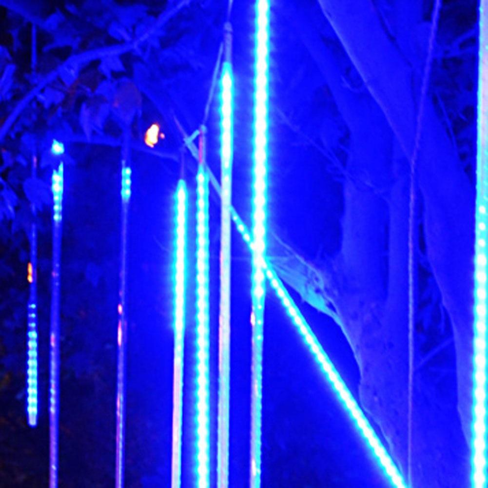 Tsleen многоцветные 30 см 50 см метеорный поток Дождь Трубы переменного тока 85-265 В Рождество свет шнура сад Свадебная вечеринка праздник дерево ...