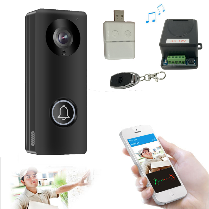 Smart 4G WiFi Video Doorphone IP Camera 1080P Wireless Video Intercom System Iphone Android APP Mobile Doorbell Waterproof