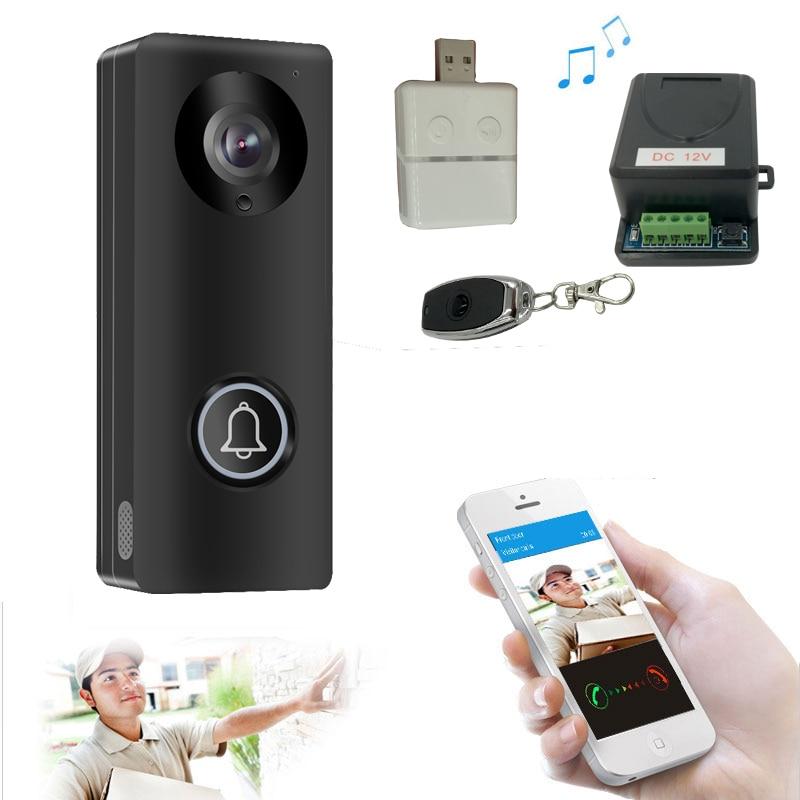 Smart 4G WiFi Video Doorphone IP Camera 1080P Wireless Video Intercom System Iphone Android APP Mobile Doorbell Waterproof