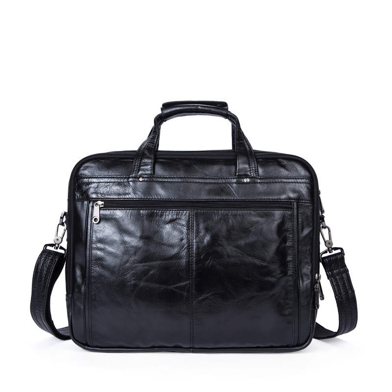 Business Genuine Leather Men Bags Laptop Handbag Male Casual Briefcase Men Computer Messenger Bag Crossbody Shoulder Bag NEW купить в Москве 2019