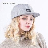 New Fashion Letter Snapback Caps For Men Women Caps Hip Hop Hats Unisex Flat Brimmed Caps