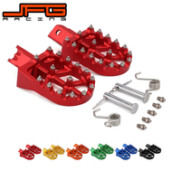 Motorcycle Universal CNC Colorful Footpeg Footrest Foot Pegs For HONDA CRF XR 50 70 110 M2R SDG DHZ SSR KAYO Pit Bike