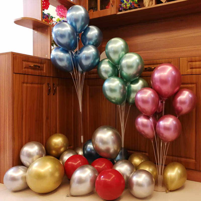 7/11 трубка Светодиодная подставка для воздушных шаров на день рождения, украшение душевой кабины, настольный держатель для воздушных шаров, держатель баллона, колонна для свадебной вечеринки, балон