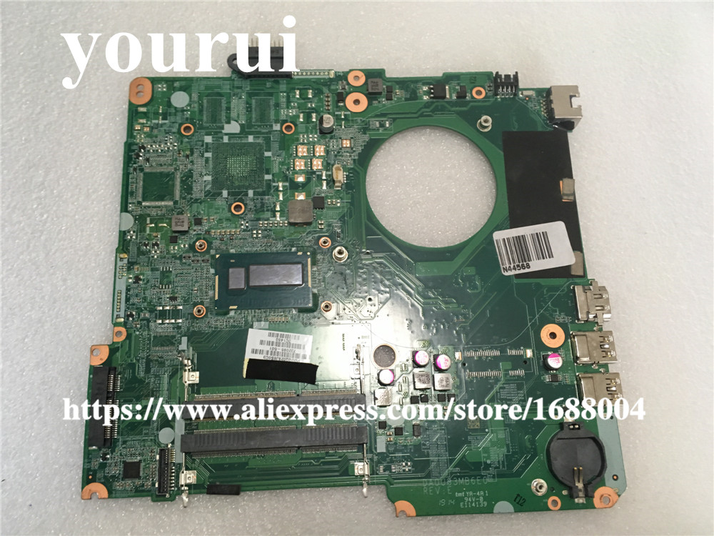 laptop motherboard for HP Pavilion 15-N 732086-501 DA0U83MB6E0 i5-4200 CPU