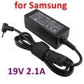 19 v 2.1a 3.0*1.1mm 40 w universal ac dc fuente de alimentación adaptador de cargador para samsung np305u1a np300u1a 305u1a-a01/a02/a03/a04/a05