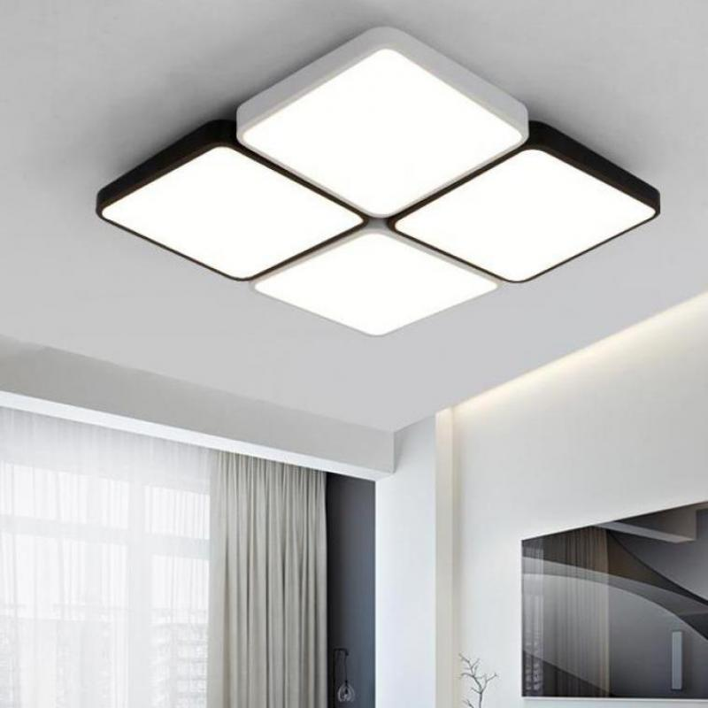 Black white squares led lights for library study work light led black white squares led lights for library study work light led bar home office lighting commercial led ceiling lights 2017 in ceiling lights from lights aloadofball Image collections